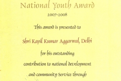 certificate national award